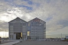 Frac Nord-Pas De Calais in Dunkerque, designed by Anne Lacaton & Jean Philippe Vassal(France) ラカトン&ヴァッサル作「Frac Nord-Pas De Calais」(フランス、ダンケルク) Architecture Design, Architecture Awards, Contemporary Architecture, Contemporary Artwork, Factory Architecture, Conceptual Architecture, Beautiful Architecture, Tadao Ando, Adaptive Reuse