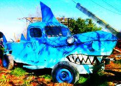 Shark truck in Sebastopol