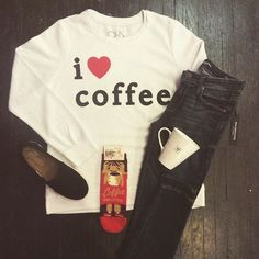 May your Monday be short and your coffee strong ☕️ #I❤️Coffee #MondayMeansCoffee #CoffeeMonster #CasualCute #BoutiqueLife #ShopLocal #DetailsBoutique