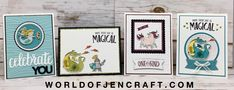 Stampin' Up! - Magical Day Mini Series Part 1 - World of JenCraft