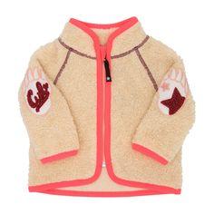Urvan Fleece Jacket/Peach Melange