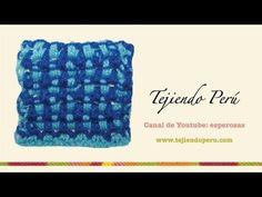 Punto en ganchillo tunecino en dos colores # 2 - YouTube