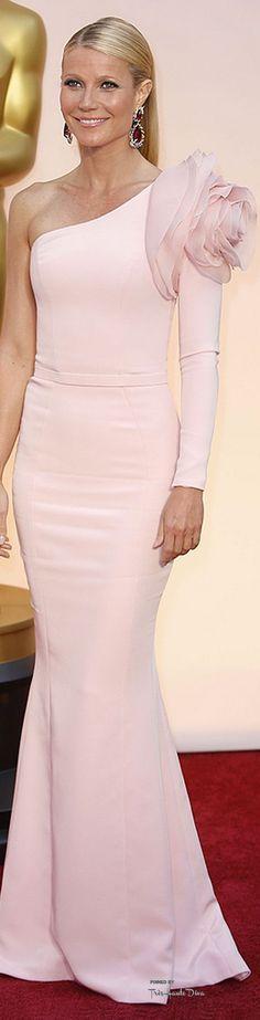 #Oscars 2015 Gwyneth Paltrow in Ralph & Russo: