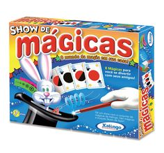 0292.1 - Show de Mágicas | Faixa Etária: +7 anos | Medidas: 32 x 4 x 26 cm | Jogos e Brinquedos | Xalingo Brinquedos | Crianças