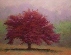 """""""The Feather Tree"""" By Paula Ann Ford, soft pastel on ampersand pastelbord"""