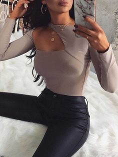 Look Fashion, Fashion Clothes, Fashion Women, Fashion Outfits, Cute Casual Outfits, Stylish Outfits, Fall Outfits, Vetement Fashion, Mode Chic