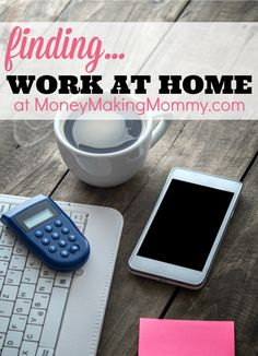 Find Online Jobs, Work at Home and Real Ways to Make Money at Home. Since 1999 MoneyMakingMommy.com has shared resources to help moms find ways to stay home and earn an income. One of the first mommy blogger pioneers back before there were BLOGS! To this day, still sharing and creating great work at home content and daily job leads.