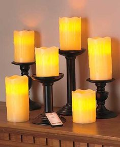 Remote Control LED Candles | The New French Creek Outlet For Real Bargains. Free Shipping.