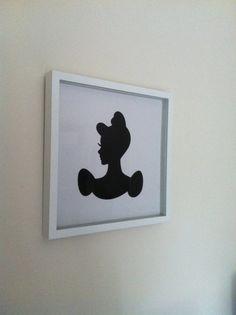 Disney Princess Wall decor by handmadewithlovnessa on Etsy, $27.00