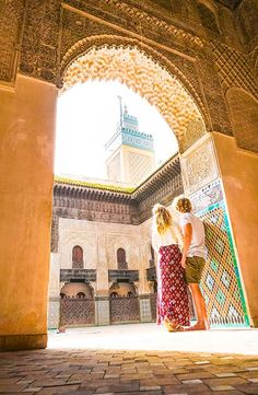 See the Atlas Mountains, Sahara Desert, Marrakech, Fes & the Blue City in with this itinerary for Morocco. Visit Morocco, Morocco Travel, Travel Pictures, Travel Photos, Morocco Itinerary, Camelo, Desert Tour, Blue City, Beautiful Pools