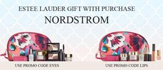 There are 2 Estee Lauder gifts with purchase at Nordstrom. Choose yours with any $37.50 purchase