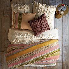 Layered Bed Looks - Festive Fair Isle #WestElm