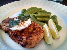 Cilantro lime sauce, Blackened tilapia and Cilantro on Pinterest