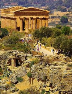 Agrigento ~ is a city on the southern coast of Sicily. It is renowned as the site of the ancient Greek city of Akragas, one of the leading cities of Magna Graecia during the golden - Agrigento Akragas