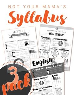 Customizable Syllabus Templates Updated  Syllabus Template