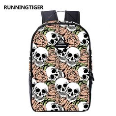 backpack men backpack women skull printing backpack mochila feminina  mochila masculina school bags for teenagers backpacks 4aabcff286a55