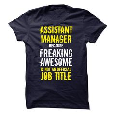 Special - I Cant keep calm, i work as ASSISTANT MANAGER