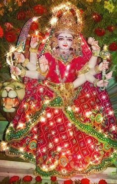Durga Maa, Durga Goddess, Christmas Wreaths, Christmas Ornaments, Holiday Decor, Christmas Jewelry, Christmas Decorations, Christmas Decor