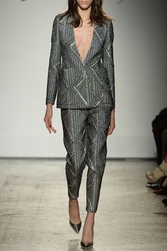 Silver Hologram Jacket - #MilanFashionWeek in #PreO: tap link in bio to be a @Genny Official woman and #Preorder its #AW16 collection right now!
