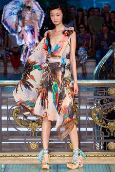 Tsumori Chisato Spring 2012 Ready-to-Wear Fashion Show - Lili Ji (ELITE)