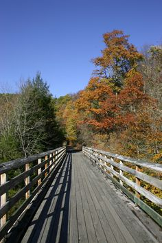 The Virginia Creeper Bicycle Trail #travel  frontiertraveler.com