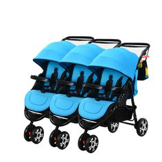 Cheap baby stroller, Buy Quality stroller baby twins directly from China strollers triplets Suppliers: Twin baby stroller split 3 triplets can sit lying foldable children cart triplets Baby Girl Strollers, Twin Strollers, Baby Prams, Ty Peluche, Baby Trolley, Triplet Babies, Boho Baby Shower, Baby Carriage, Strollers