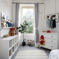 How to organise baby clothes: from stylish displays to space-saving ideas Baby Clothes Storage, Ikea Expedit, Small Chest Of Drawers, Multifunctional Furniture, Bedroom Images, Hanging Rail, Upcycled Furniture, Home Interior Design, Space Saving