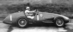 Jose Froilan Gonzalez - Ferrari. Nurburgring - 1954