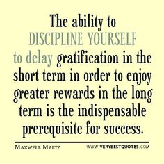 Self-Discipline quotes: The ability to discipline yourself . The Words, Cool Words, Discipline Quotes, Self Discipline, Positive Discipline, Positive Quotes, Motivational Quotes, Inspirational Quotes, Sacrifice Quotes