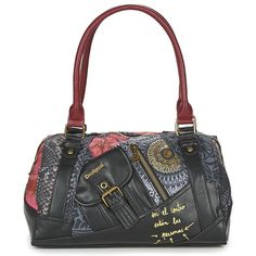 Discover the DESIGUAL collection on Spartoo ► Official Distributor ► Wide variety of sizes and styles ✓ Free Delivery and competitive prices Shops, Gym Bag, Tokyo, Clothes, Accessories, Black, Style, Fashion, Fashion Styles
