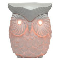 Whoot Scentsy® Warmer is an electric candle warmer and used for Scentsy wax tarts. $35 #owl #home #fragrance #iamwickless Scentsy® Online Store | Buy Scentsy® Online