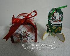 Buzón y tag navideño