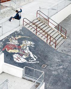 "Free Skateboard Magazine (@freeskatemag) sur Instagram : ""@casperbrooker 5050 in LA from issue 13. : @joelpeck"""