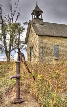 Bichet School, near Florence, Kansas