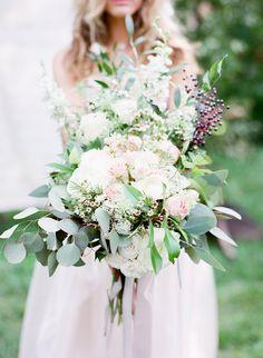 Wild & Unstructured beauty of a bouquet #cedarwoodweddings Equestrian Bridal Shoot at Cedarwood   Cedarwood Weddings