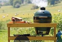 Big Green Egg, the Ultimate Cooking Experience. It's the best kamado grill, ceramic grill & charcoal smoker on the planet, with 7 convenient sizes! Best Kamado Grill, Barbecue, Big Green Egg Grill, Metal Grill, Ceramic Grill, Grillin And Chillin, Enjoy Summer, Green Eggs, Outdoor Cooking