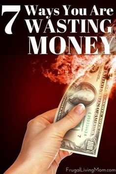 Do you think you are saving money? You clip coupons; you set a budget. You even shop by your grocery list, to the letter. Chances are, you could still be saving money. Here is a list of 7 things you are probably wasting money Ways To Save Money, Money Tips, Money Saving Tips, Managing Money, Living On A Budget, Frugal Living, Budget Planer, Show Me The Money, Budgeting Money