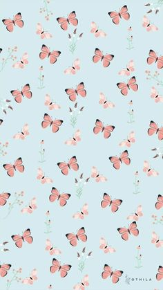 Butterfly Wallpaper Iphone, Wallpaper Iphone Disney, Kawaii Wallpaper, Pretty Wallpapers Tumblr, Cute Cartoon Wallpapers, Butterfly Background, Josi, Decoupage Paper, All Things Cute