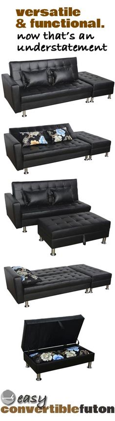 I Love This Convertible Futon It S Simple Versatile And