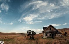 220 of 365 08/8/2013 Zumwalt Prairie   I grew up shooting ground squirrels on this property on Crow Creek road and have always loved this old house!   This is 15 18mm photos stitched.   Like on Facebook http://facebook.com/shoottheskies Shoot The Skies Post  http://shoottheskies.com/post/57941844322/220 Twitter http://twitter.com/shoottheskies