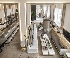 Magnificent London apartment interior design by Kelly Hoppen! Feel inspired: www.luxxu.net | #interiordesign #kellyhoppen #luxurydesign