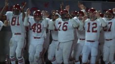 Remember the Titans - everyone should see it at least once.