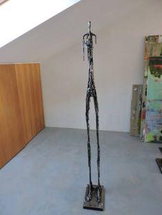"Saatchi Art Artist Michele Rizzi; Sculpture, ""Explorers (star man, beyond Giacometti)"" #art"