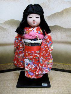 Japanese Vintage DollModern ICHIMATSU-NINGYO by vintagezipangu