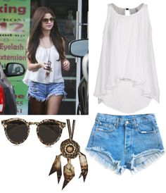 """""""Selena Gomez style steal"""" by sweeterthancandy2 on Polyvore"""