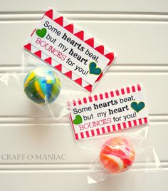 Craft-O-Maniac: 14 No Candy Valentines