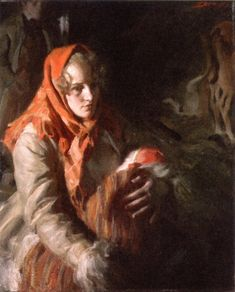 Madonna by Anders Zorn, oil.