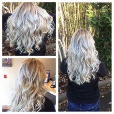#hairbykarleeann #ellemarielakestevens #ellemariekarlee #redkenobsessed #icyblonde #balayage