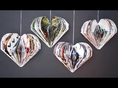 DIY Valentine's Day Room Decor Idea | Recycle Magazine Heart | Recycled Crafts Ideas For Kids