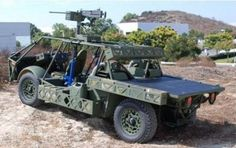 The U.S. Army's Clandestine Extended Range Vehicle